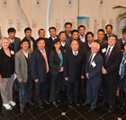 Twenty-two officials from China's Ministry of Water Resources visited ASCE's headquarters, in Reston, Virginia, for a daylong meeting on December 6