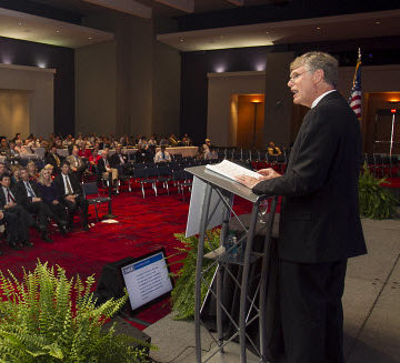2014 President Randy Over delivers inaugural address at Annual Meeting