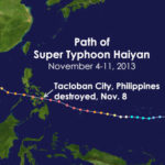 ASCE Sends Condolences to Those Affected by Tragic Typhoon in the Philippines