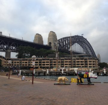 "ASCE President Randall ""Randy"" S. Over, P.E., F.ASCE, led a 7-day business trip to Australia and New Zealand. Pictured is the Sydney Harbor Bridge. Photo Credit: Meggan Maughan-Brown"