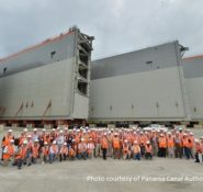 Seeing a giga project up close – ASCE members visit the construction site of the Panama Canal at the 2014 Global Engineering Conference