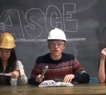 A  standout entry in ASCE's 2014 Student and Younger Member Video Contest.