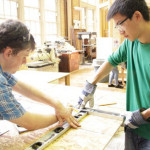 Civil Engineering Club Students in Brooklyn Build on Bright Idea
