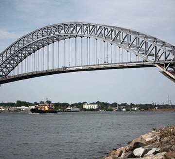 The Bayonne Bridge Raise the Roadway project is a great example of innovative approaches at work in civil engineering. Photo: State of New Jersey