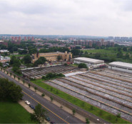 The New York City Department of Environmental Protection's ongoing $150 million upgrade of the 26th Ward Wastewater Treatment Plant, in Brooklyn, recently earned the Envision sustainable infrastructure rating system's Silver Award. PHOTO: NYC Water