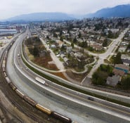 An aerial view of the project. Photo: Port Metro Vancouver