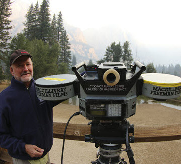 Greg MacGillivray has been instrumental in the history of IMAX films. Photo courtesy MacGillivray-Freeman.