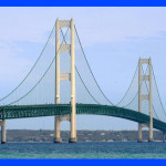 'Mighty Mac' Bridge Unites Michigan Peninsulas, Inspires Poem