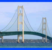 The Mackinac Bridge was recognized as a National Historic Civil Engineering Landmark in 2009.