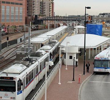 The Denver Light Rail system is an example of progressive infrastructure, according to Bill Wallace. PHOTO: Jeffrey Beall