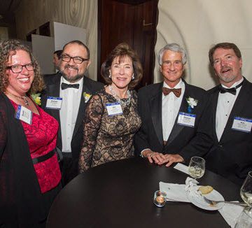 ASCE members enjoy the OPAL Awards Gala. Photo by David Hathcox for ASCE.