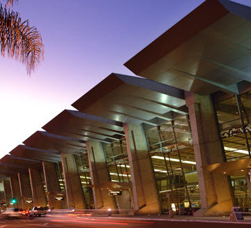 The San Diego International Airport's Green Build landside project recently received the Envision rating system's Platinum award. PHOTO: San Diego International Airport
