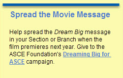 Dream Big Foundation sidebar