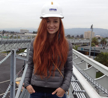 Inna Tasmaly, P.E., M.ASCE - young mother, wife, fulltime buildings engineer, and volunteer for ASCE.