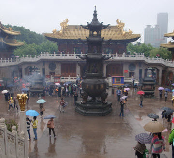 The Jing'an Temple.