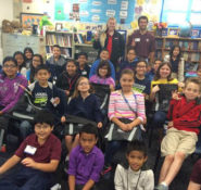 Fourth and fifth graders at a Lewisville, TX, elementary school learned from Dallas Branch leaders why civil engineering is a great career.