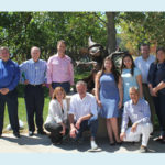 The ASCE Innovation Contest winners in the Internet of Things category enjoyed a sunny day at Walt Disney Imagineering.