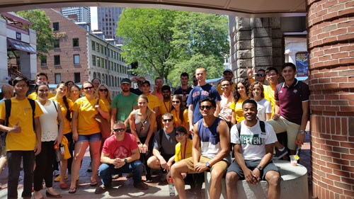 CI Student Days forges quick friendships among some of the best engineering students in the country.