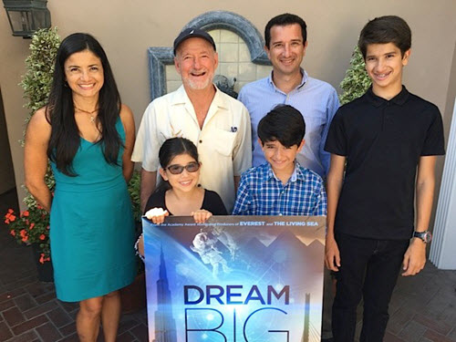 "The Rodriguez family enjoyed their ""dream prize"" trip to Laguna Beach. PHOTO: Barbara MacGillivray"