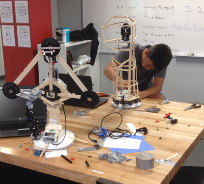 The ASCE CE Club at BASIS Independent Silicon Valley School in San Jose, CA, learned civil engineering concepts through robotics.