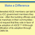 Members Urged to Tell Code Council to Back ASCE 7-16