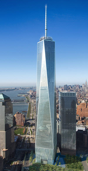The One World Trade Center. PHOTO: SPI