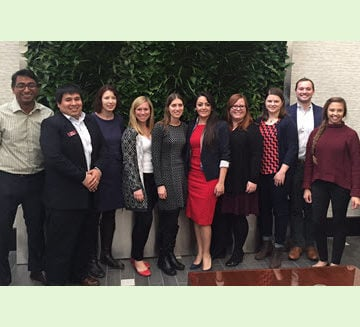 A group of ASCE members participated in the recent Emerging Leaders Alliance conference.