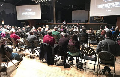 "The Oregon Section recently hosted a screening of the documentary ""Unprepared."" Courtesy Oregon Section"