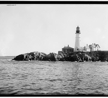 The Portland Head Light is the oldest lighthouse in Maine.