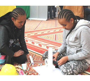 Engineering Family Day at the National Building Museum kicked off 2017 Engineers Week.