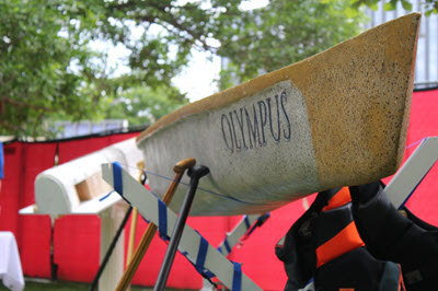 "The South Dakota School of Mines canoe, ""Olympus,"" is the school's second national qualifier in two years."