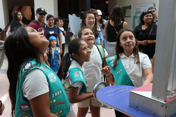The L.A. YMF Girls Scouts Dream Big event was a huge success. PHOTO: Sabrina Rivera/L.A. YMF