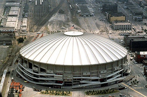 The Seattle Kingdome.