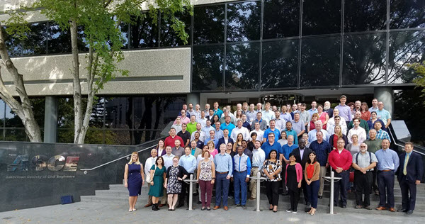 The PGF welcomed nearly 100 ASCE leaders from around the world. PHOTO: Leader Training Committee