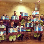 Los Angeles Younger Members Get Artistic