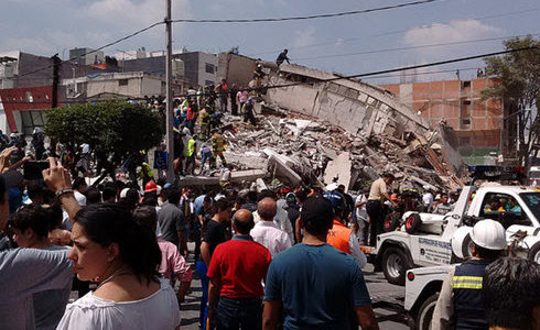 An ASCE IRD team is traveling to Mexico to collect data in the aftermath of the Sept. 19 Central Mexico Earthquake.