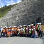 ESPOL Students Visit Largest Dam in Ecuador