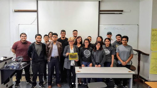 PHOTO: Cal State LA Student Chapter