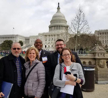 Florida sent a large group of ASCE members to advocate for infrastructure during the 2018 Legislative Fly-In.
