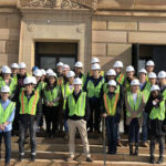 Temple Students Go On Site Tour