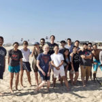 CSULB Students Kick Off Semester with Beach Day
