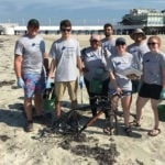 Embry-Riddle Students Volunteer for Beach Cleanup Event